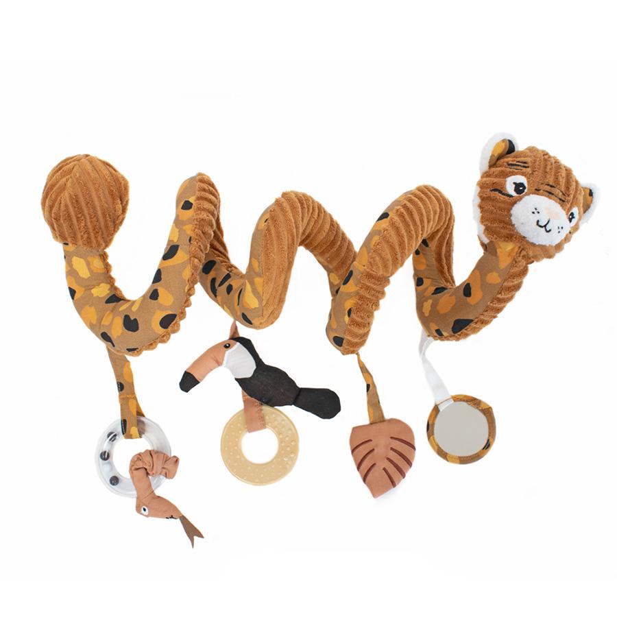 Deglingos Βελούδινο σπιράλ δραστηριοτήτων Τίγρης ''SPECULOS''