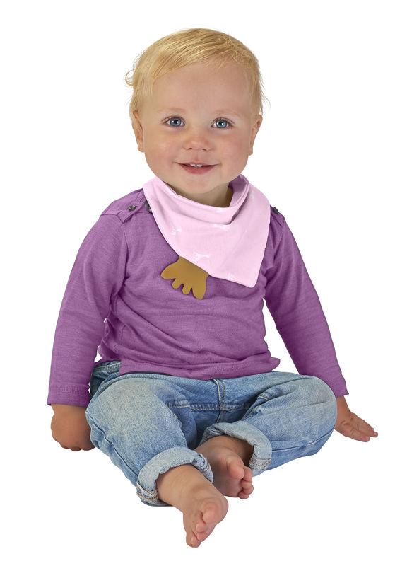8dfa2524564 Μωρο :: Φαγητό :: Σαλιαρίτσες :: Σόφι καμηλοπάρδαλη Σαλιάρα Μπαντάνα με  μασητικό από καουτσούκ